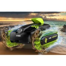 RC 6CH Amphibious Vehicle Shape 360 Degree Rotating Deform Toy Variable Boat Surface Walking