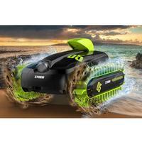 Rc 6CH Amfibische Voertuig Vorm 360 Graden Roterende Vervormen Speelgoed Variabele Boot Oppervlak Lopen