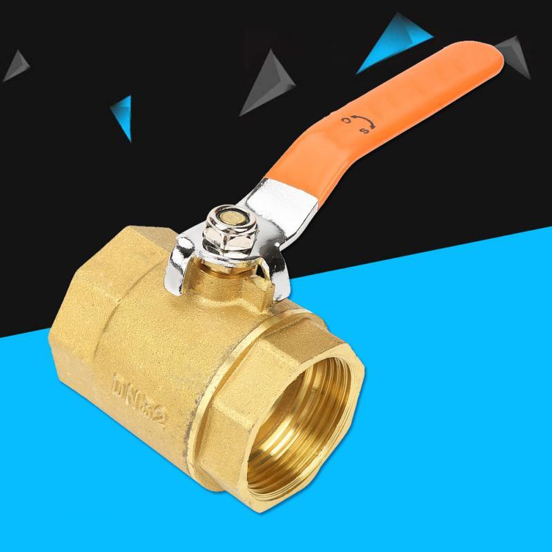 Ball Valve DN32 Thread Ball Valve 1-1//4BSP Brass Pipe Ball Valve 1.6MPa for Water Oil Gas Shut-Off Valve kugelhahn