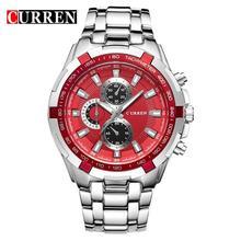 лучшая цена Watch Men Relogio Masculino Curren Creative Watches Sport Clock Mens Watches Top Brand Luxury Military Army Luxury Quartz Watch