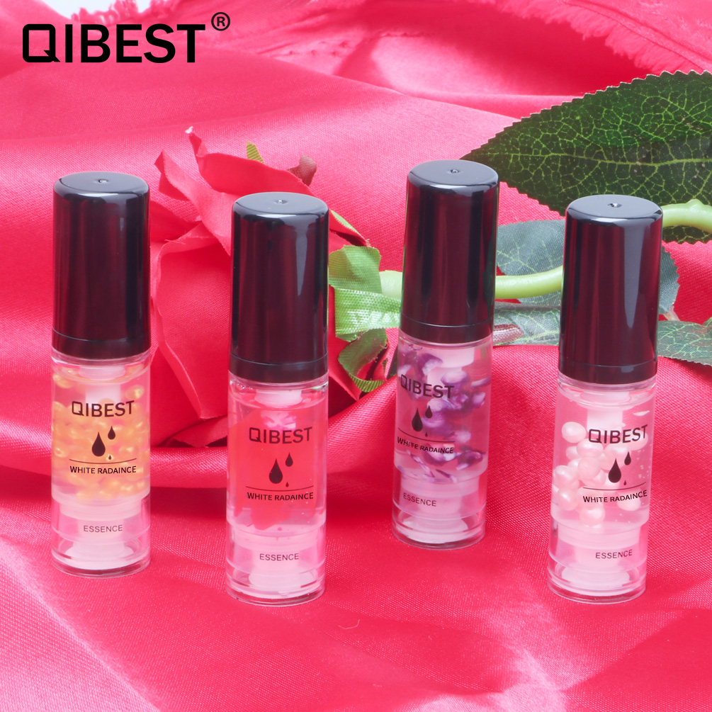 QIBEST Face Base Primer Makeup Liquid Shrink Pore Facial Moisturizing Essence Lasting Oil Control Moisturizing Makeup Milk TSLM1