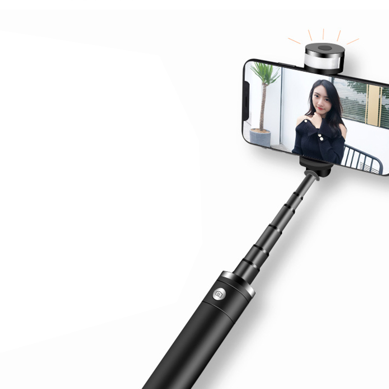 Image 2 - Portable Mobile Phone Holder Tripod Camera With A Wireless Bluetooth Remote Self Timer Artifact Rod-in Selfie Sticks from Consumer Electronics