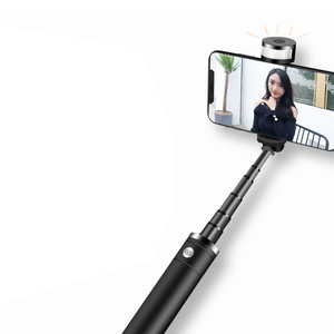 Image 2 - Soporte portátil para teléfono móvil trípode cámara con Bluetooth inalámbrico auto temporizador varilla de artefacto