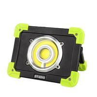 Rechargeable COB LED Working Light Floodlight Outdoor Portable Camping Lamp Spotlight USB Charging Searchlight