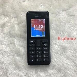 Image 3 - Original nokia 108 duplo sim celular remodelado boa qualidade 2g gsm desbloqueado nokia 108 ds telefone móvel