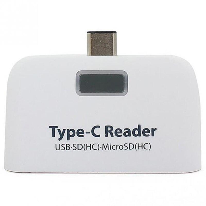 4 In1 Abs Usb 3.1 Typ C Usb-c Tf Micro-sd Otg Kartenleser Für Macbook Telefon Tablet Verkaufsrabatt 50-70%
