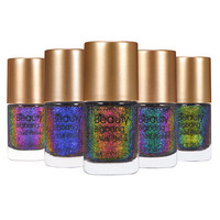 BeautyBigBang 5 bottles Holographic Nail Polish Holo nailpolish nail varnish Glitter 2018 Nail Lacquer Varnish Nail Polish Set