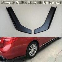 2Pcs Rear Lip Wrap Angle Splitters Bumper Spoiler Diffuser Anti crash modified Winglet Wings Bumper