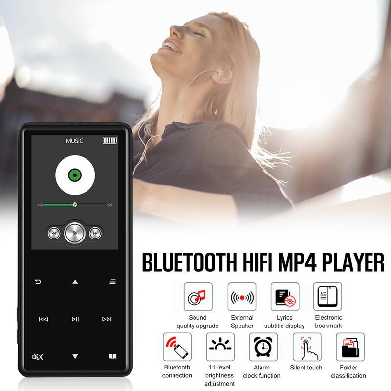 Mp4 Player Mutig Bluetooth Mp4 Mp3 Player Portable Media Musik Player 2,4 Zoll Touch Tasten Radio Fm Radio Hifi Video Adapter 8 Gb 16 Gb Seien Sie In Geldangelegenheiten Schlau