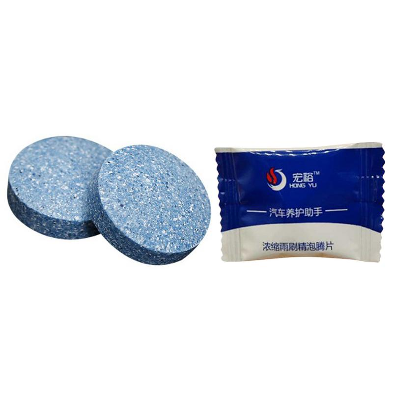 Image 3 - 10pcs Car Concentrated Effervescent Tablets High performance Cleaning Decontaminate Car Windshield Nursing Household Cleaner-in Car Washer from Automobiles & Motorcycles