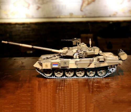 Henglong 1 16 6 0 Infrared Combat Upgraded Russia T90 RTR RC Tank 3938 With 360