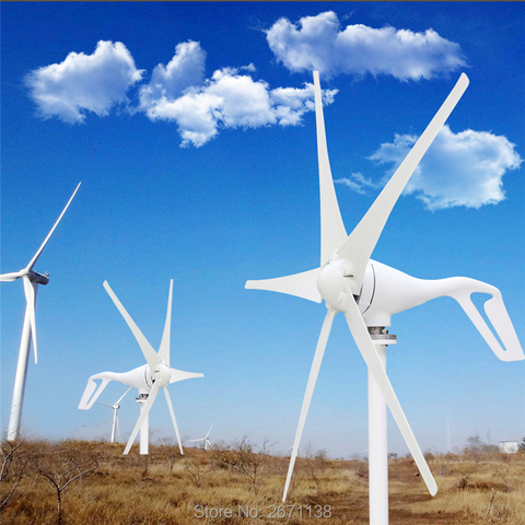 laminas ou 5 laminas gerador de vento