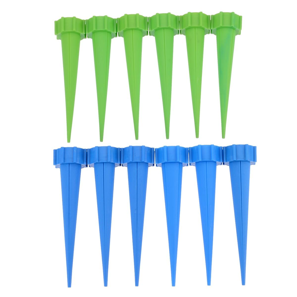 12 Pz/lotto Giardino Irrigazione Automatica Irrigazione Kit Fiore Flora Acqua Di Controllo A Goccia Del Punto Del Cono Di Bottiglia Di Acqua Sistema Di Irrigazione