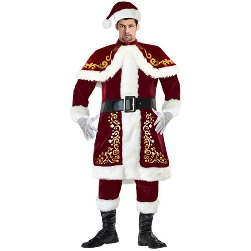 ... Fancy Xmas Dress Christmas Clothing Lovers Santa Claus Clothes Set  Adult Plush Christmas Suit Santa Costume ... - Detail Feedback Questions About Fancy Xmas Dress Christmas Clothing