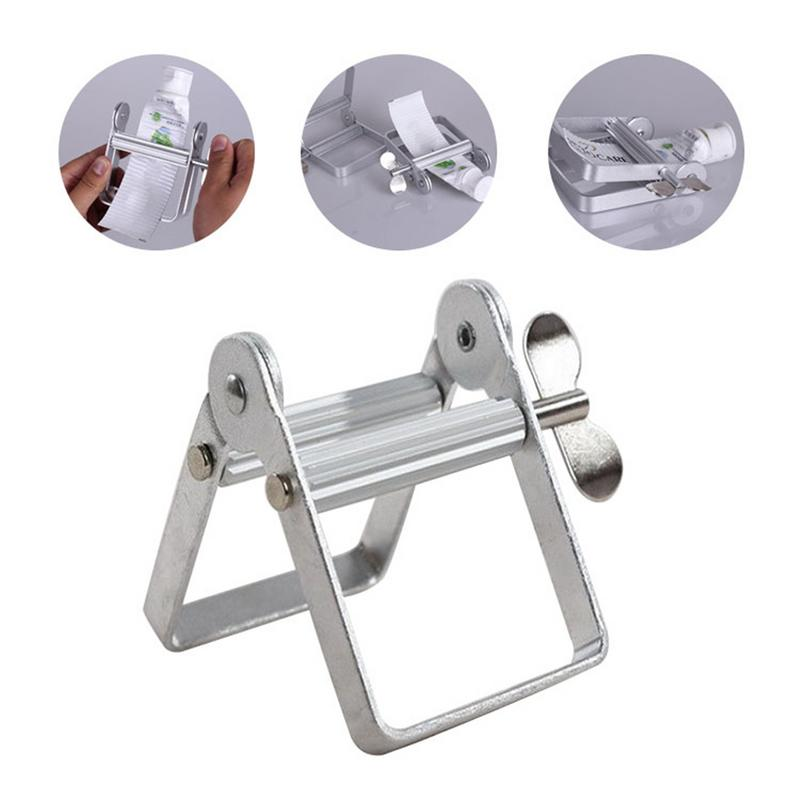Metal Toothpaste Squeezer Toothpaste Dispenser Roller Oil Paint Extruder Aluminum <font><b>Tube</b></font> Squeezer Cosmetics <font><b>Tube</b></font> Wringer Escurrido image