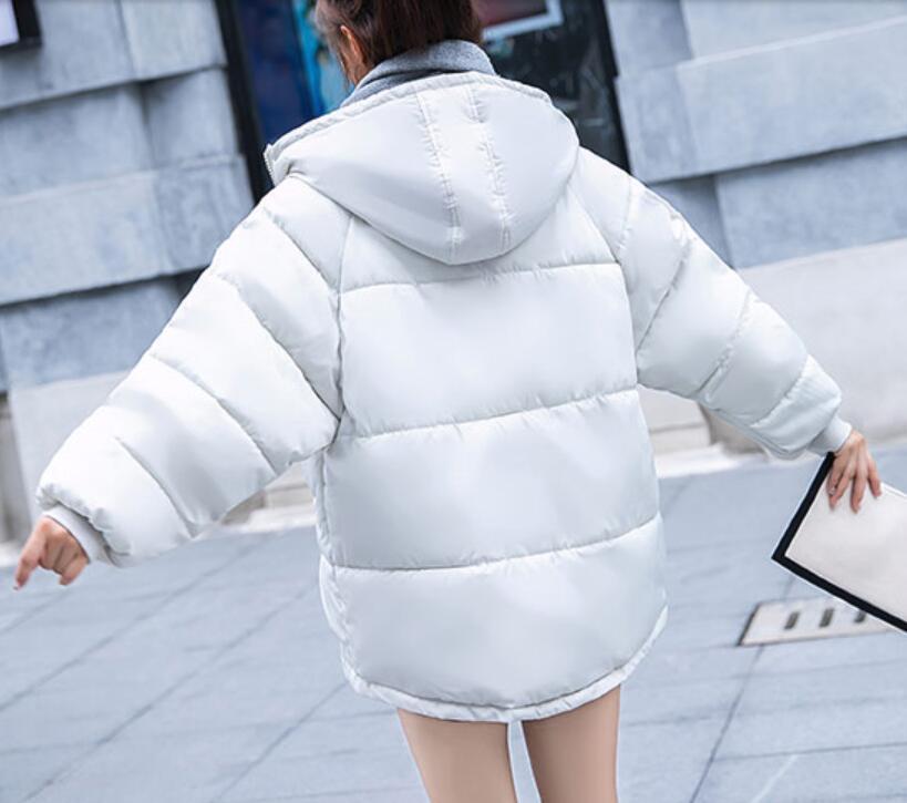2 as 3 As Lâche 2018 Hiver Épais as Costume Coton Veste Sauvage Court Femmes Photo 1 as Manteau 4 Pain Coréenne Chaud Paragraphe xqRpBq