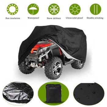 190T Waterproof Dustproof Anti-UV Quad Bike ATV Cover for Polari s   Can-Am  Kawasaki