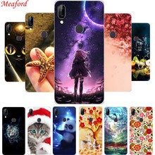 For Lenovo S5 Pro Case Silicone Soft TPU Phone Back Cover 6.2 S5Pro Coque Floral Cool Cute Funda