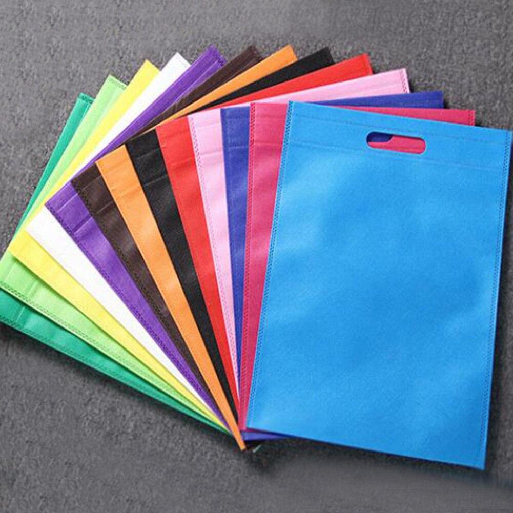 30*40/35*45cm Non-Woven Fabric Reusable Shopping Folding Environmental Bag