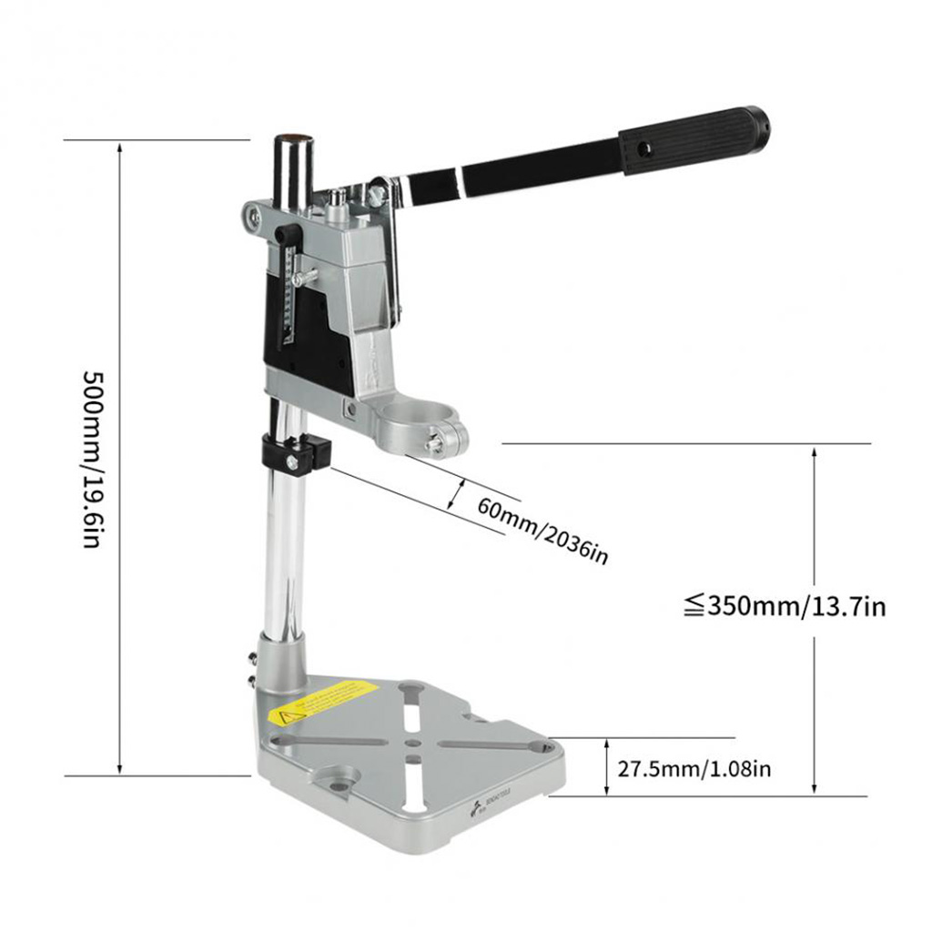Image 5 - Single Hole Hand Drill Bracket Electric Grinder Bracket Multifunctional Household Woodwork Fixed Rack Universal Electric Drill-in Electric Drills from Tools on