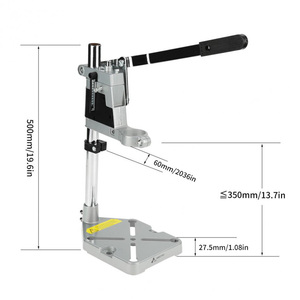 Image 5 - Single Hole Hand Drill Bracket Electric Grinder Bracket Multifunctional Household Woodwork Fixed Rack Universal Electric Drill