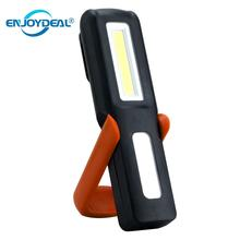 USB Rechargeable 3W COB LED Flashlight Work Light Lamp Magnetic Super Bright LED Flashlight Torch Camping Tent Lantern W/Hook