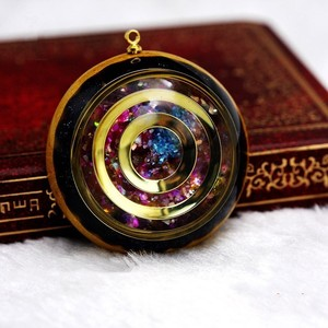 Image 3 - Orgonite Energy Reiki Stone Necklace Pendant Good Luck Bringers Help Love Feelings Necklace Mysterious Harajuku Chakra Jewelry