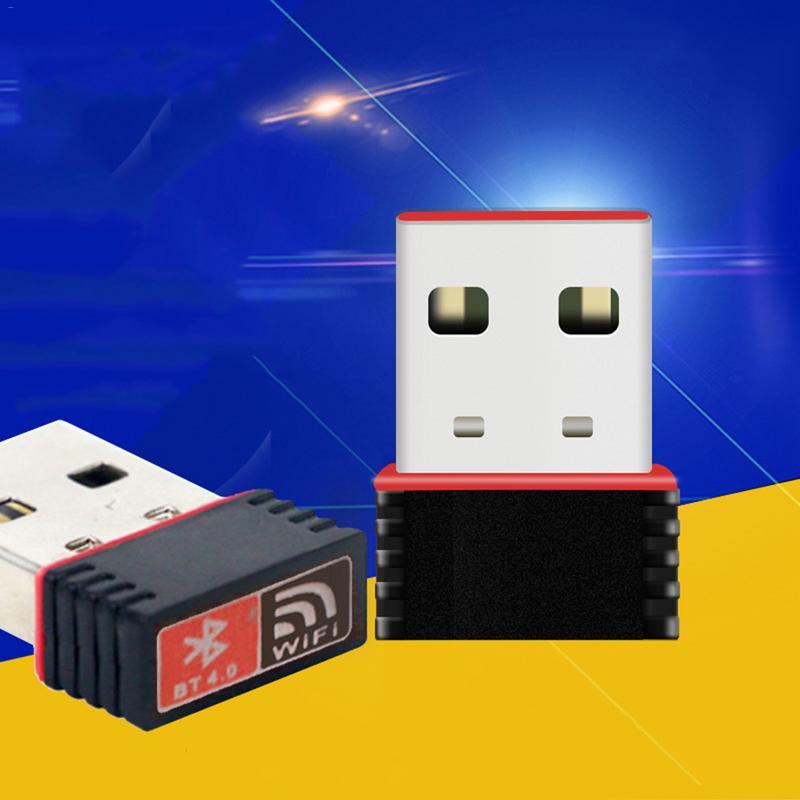 Network-Card Laptop Desktop Usb-Wifi Bluetooth Mini Wireless 4G BT4.0 3G 150M For Dual-Function