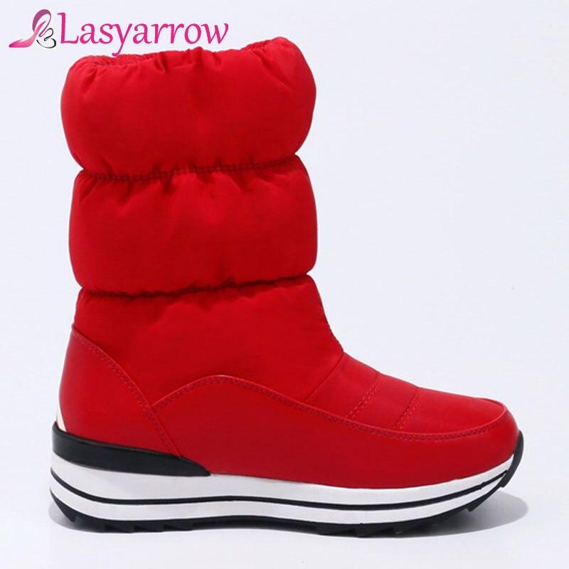 ... 3cm Scarpe Antiscivolo Caviglia Spessore 3cm Di Avvio White 5cm Ragazza Impermeabile  Neve Slip Delle 3 ... a41d2e8c3d2
