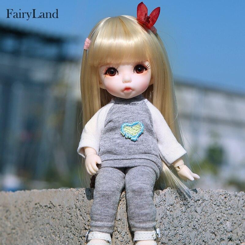 Envío gratis Fairyland Pukifee Ante 1/8 BJD muñecas figura de - Muñecas y accesorios - foto 3