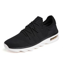 Купить с кэшбэком Fashion Sneakers Men Shoes Air Sole Casual 2019 Spring Loafers Original Authentic Cushioning Men's Sports Shoes Sneakers Homens