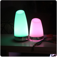 цена Decorative Night Lights Brief 7 Color Changing Modern Lampshade SK-LG002B for LED Coffee Bar Table Lamps Free Shipping 4pcs/Lot онлайн в 2017 году