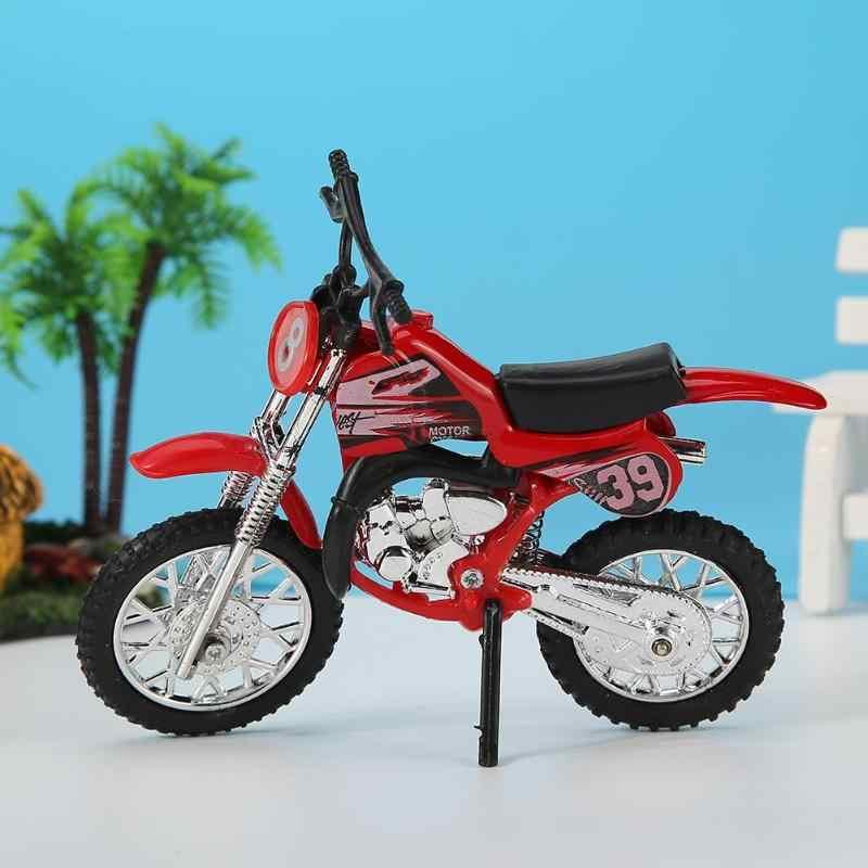 モデルオートバイおもちゃの合金子供グライドシミュレーションダイキャスト子供車コレクションの装飾品子供のおもちゃバイクモーターサイクル