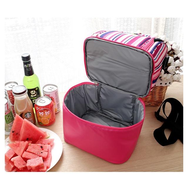 9L Pequena Cesta de Piquenique Tote Almoço Duas Camadas Mochila Cooler Saco Do Piquenique Ao Ar Livre para o Mantimento Caiaque Camping Caminhadas
