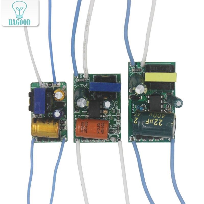8-50W transformador entrada AC175-265V adaptador de fuente de alimentación Controlador led aislado Luz de controlador de lámpara LED para bombilla de foco led Chip 1 Uds linterna convoy linterna Lanterna conductor nuevo Firmware 7135x3/7135x4/7135x6/7135 8x17mm de accesorios de iluminación