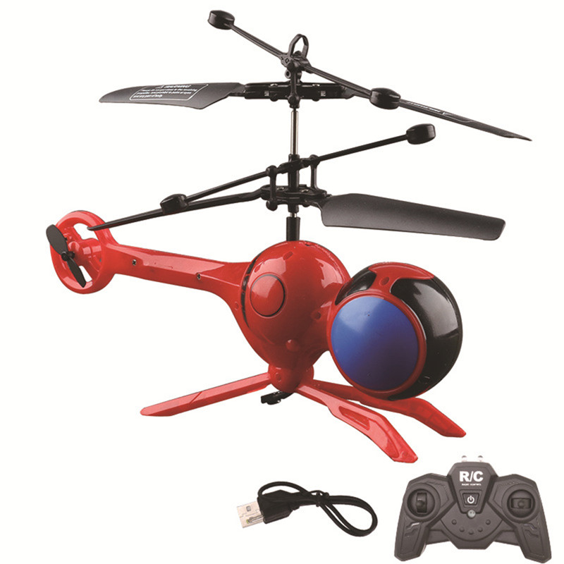 3CH Dragonfly RC Helicopter ABS Infrared Control Helicopter Toy Remote Control Toys LED Light Mini Helicopter