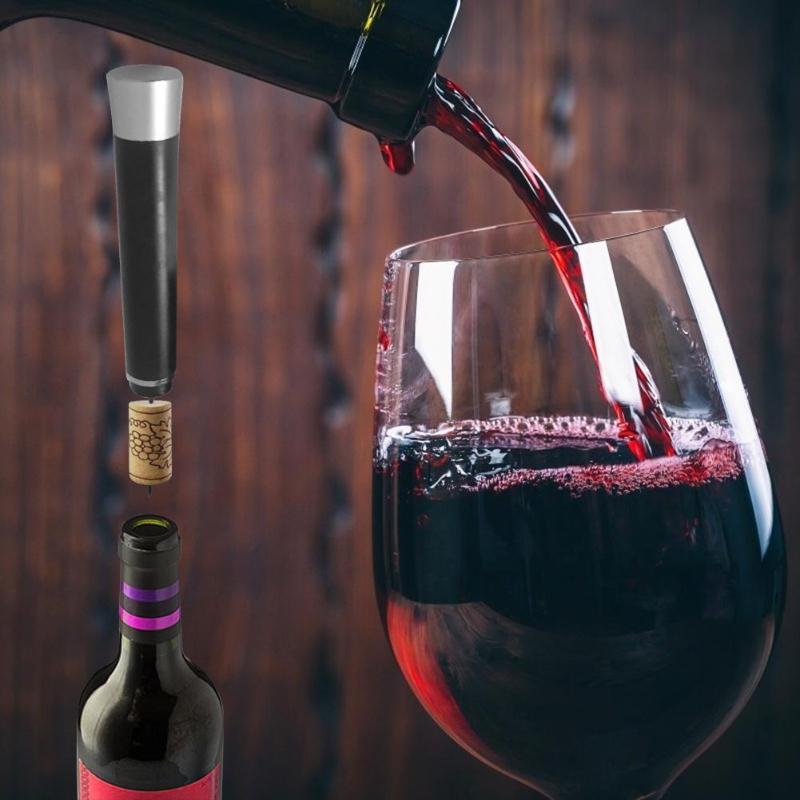 Pneumatic Red Wine Bottle Opener Air Pressure Pumps Cork Manual Corkscrew Barware Accessories