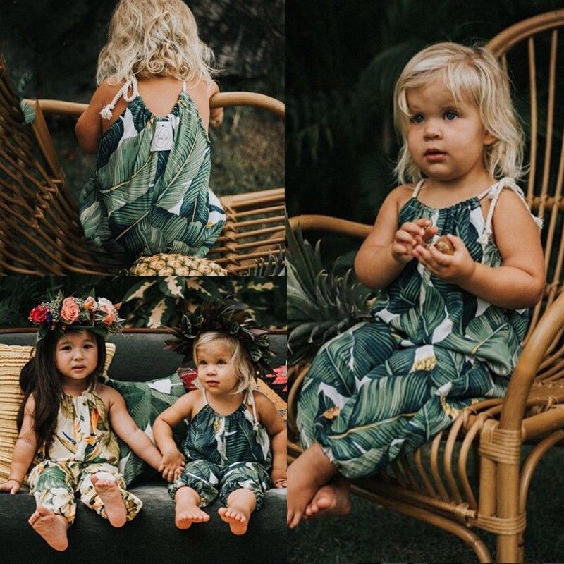 2019 Lente Nieuwe Peuter Kids Baby Meisje Bloemen Romper Jumpsuit Playsuit Outfit Kleren Zomer Modieuze En Aantrekkelijke Pakketten