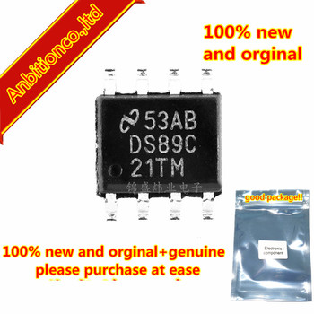 5pcs 100% new and orginal DS89C21TMX DS89C21TM SOP8 Differential CMOS Line Driver and Receiver Pair in stock