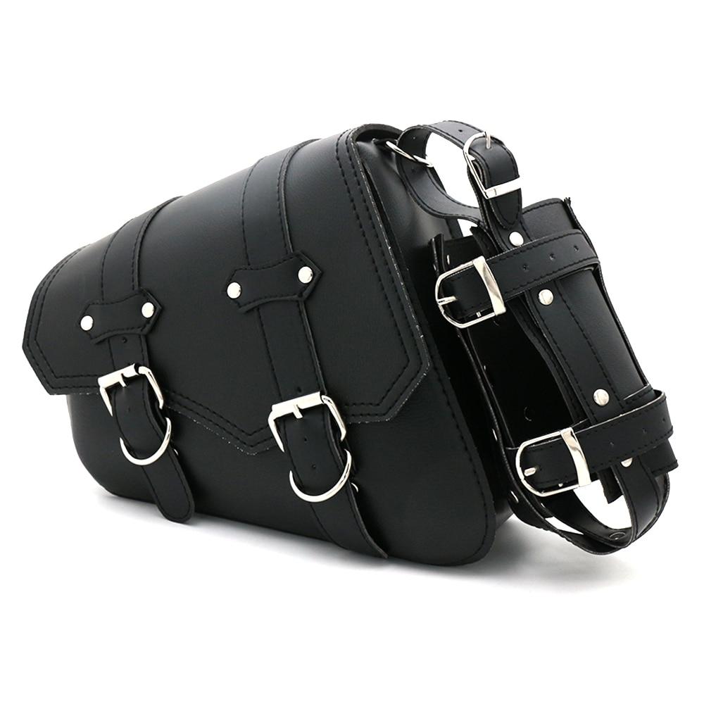 Mooreaxe мотоциклетные боковые седельные сумки для инструментов Сумки для хранения чемодан Водонепроницаемый для Harley Sportster 883 1200XL черный x1