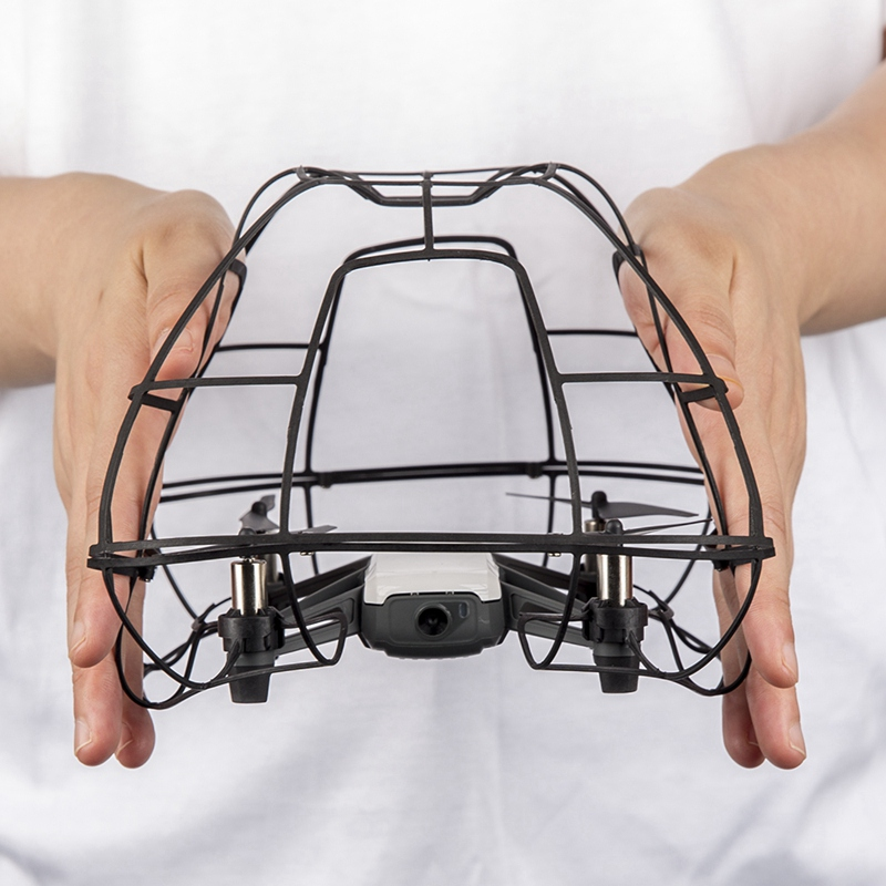 Image 4 - For Tello Drone New Spherical Protective Cage Cover Guard Light Full Protection Protector Guards Accessories.-in Drone Accessories Kits from Consumer Electronics
