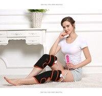 Magnetic stone heating, hot compress knee massager electric heating kneecap leggings, vibration multifunctional Leg Massager