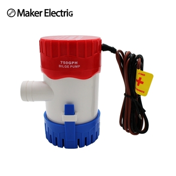 Water Pump MKBP-G750-12/24 750GPH 12/24v Small Portable Bilge Pump,marine Pumps From Wenzhou Factory
