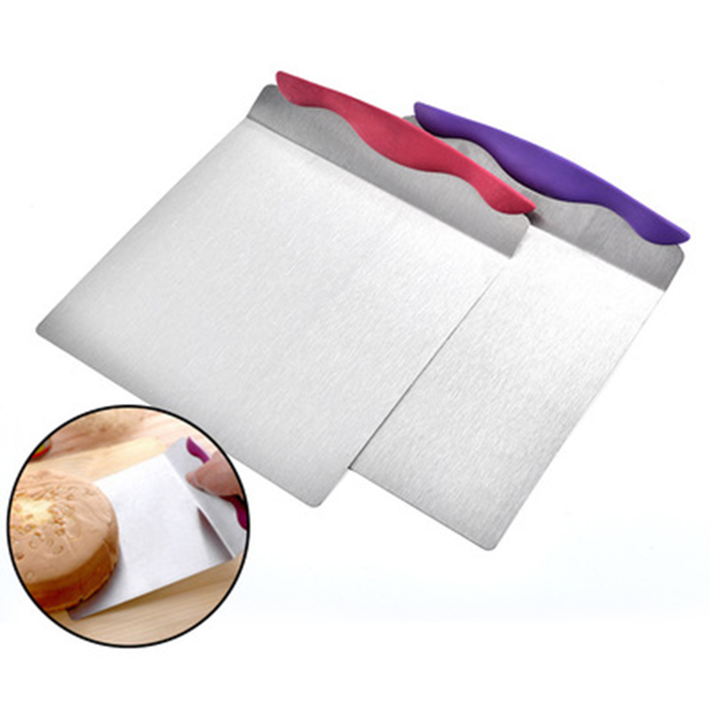 Stainless Steel Pizza Spatula Peel Shovel Cake Lifter Handle Plate Holder Baking in Pizza Tools from Home Garden