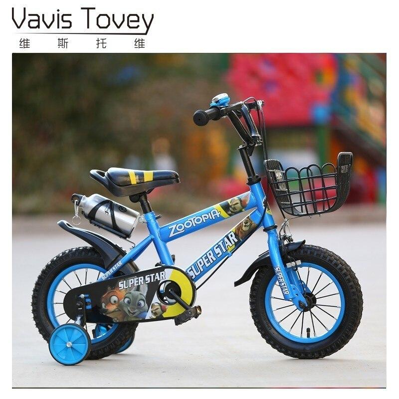 Enfants de vélo 16 pouces enfant bébé transport pouces bébé 2-3-6 ans hommes et femmes pouces voiture de sport bébé transport flash