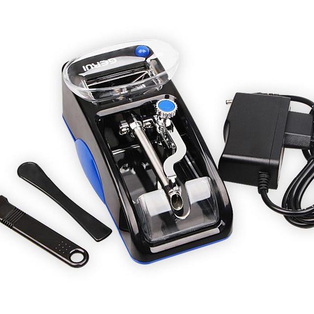 1 pc Elettrico Facile Da Macchina di Laminazione Sigaretta di Tabacco Iniettore