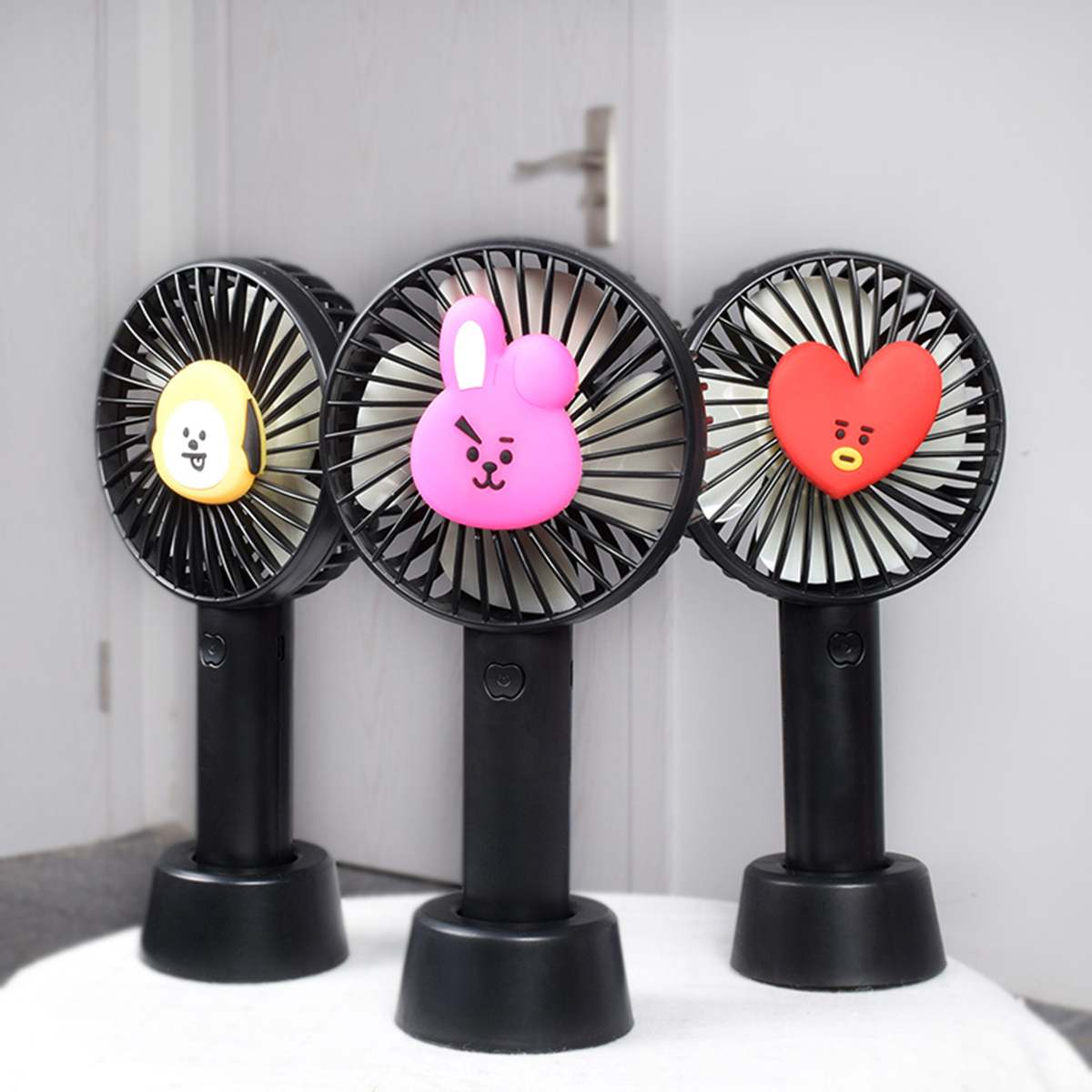 Mini Fans Handheld Portable Fan with Stand USB Rechargeable Battery Cooling Fan Desktop Fan for Travel Outdoor Home OfficeMini Fans Handheld Portable Fan with Stand USB Rechargeable Battery Cooling Fan Desktop Fan for Travel Outdoor Home Office