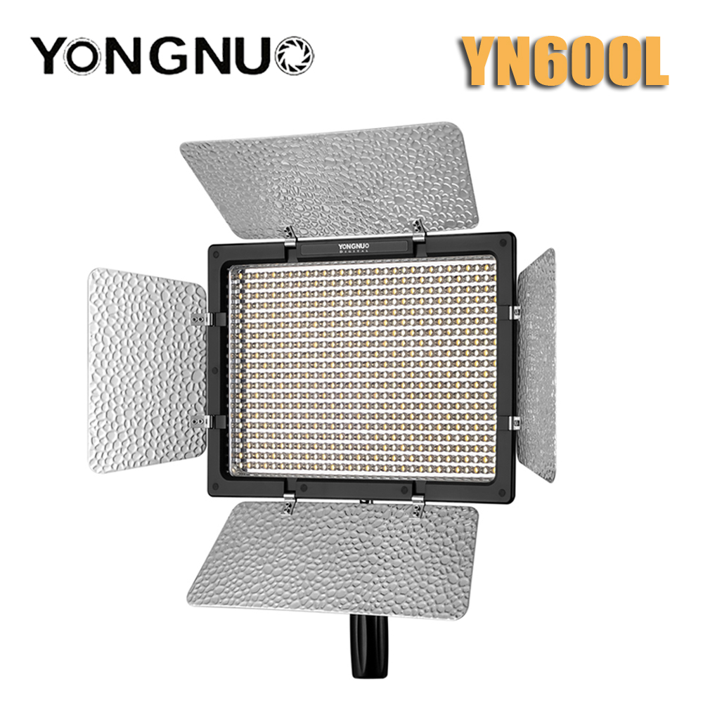 YONGNUO YN600L YN600 L 600 LED Video Light Panel LED Photography lights FOR Video Light with