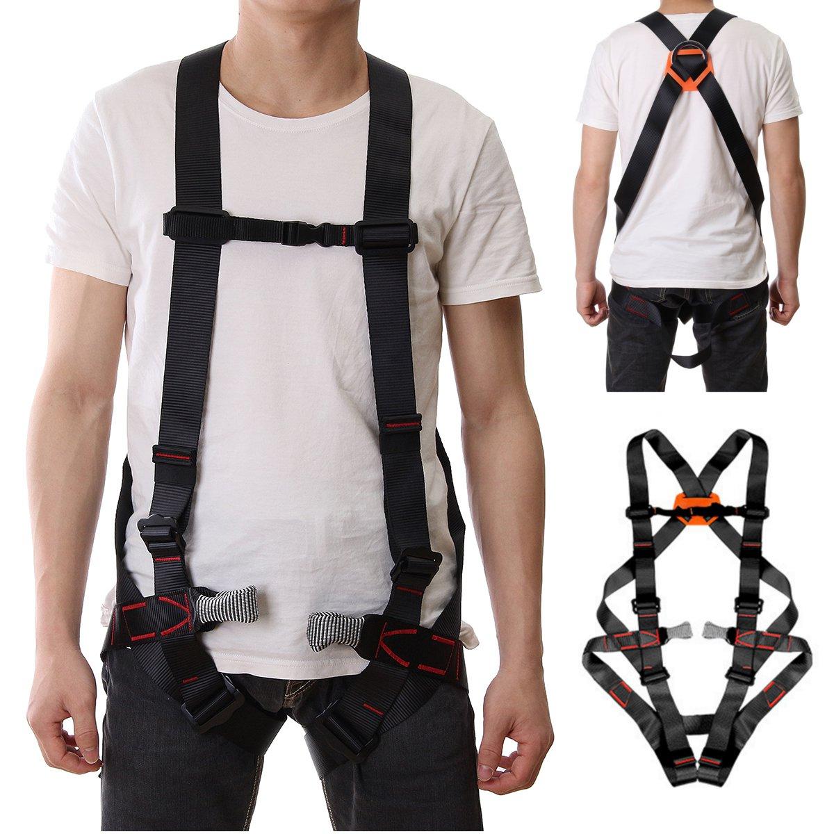Chaud extérieur 800 KG escalade harnais sécurité rappel ceinture alpinisme harnais rock siège assis buste ceintures de protection
