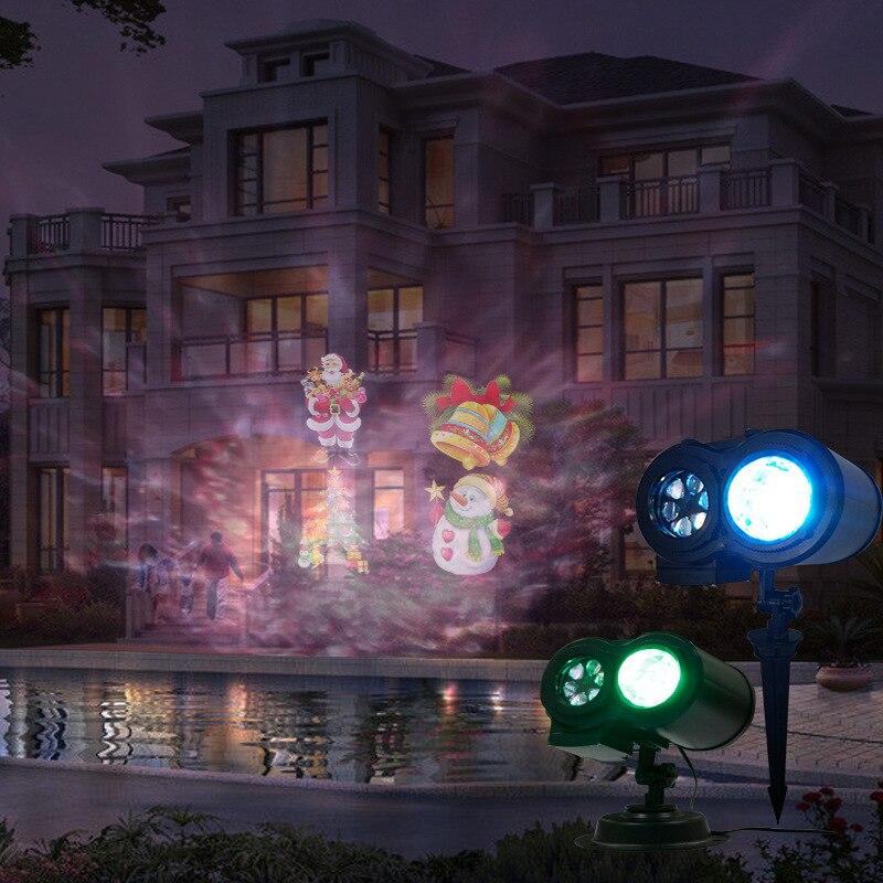 ondulacoes projetor led luzes do palco com 05